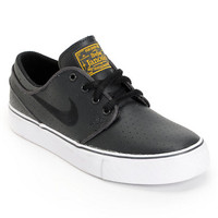 Nike SB Stefan Janoski GS Anthracite, White & Black Boys Shoe