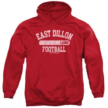 Friday Night Lights - Lions Pill Box Adult Pull Over Hoodie