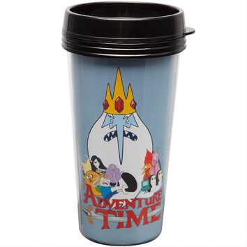 Adventure Time - Ice King & Cast Travel Mug