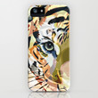 Tiger Mix #1 iPhone & iPod Case by Ornaart