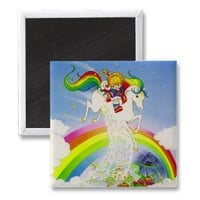 Rainbow Brite  Starlite over rainbow Refrigerator Magnets from Zazzle.com