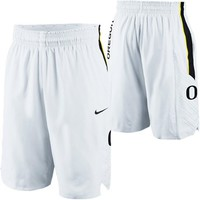 Nike Oregon Ducks Replica Basketball Shorts - White