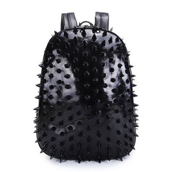 Student Backpack Children DIINOVIVO New Fashion Thorn Women School Bags Youth Leather Student Travel Bag Punk Style Protective Backpack Bagpack WHDV0132 AT_49_3