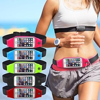 Universal Gym Waist Bag Waterproof Sport Accessories  Phone Case Pouch
