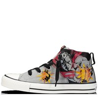 Converse - Chuck Taylor Street - Superman - Mid - Limestone/Red