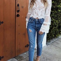 Florence Lace Top