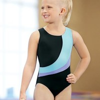 Girls' Color-Blocked Leotard