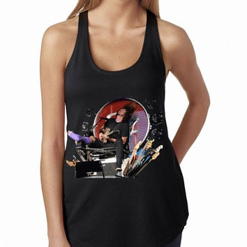 Foo Fighters Dave Throne Black Rock Band Tank Top, Lady Women Fit Tee, Sweater Hoodie Tshirt Tank Top