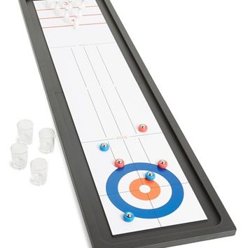 Barbuzzo Bowling & Shuffleboard Drinking Game Set
