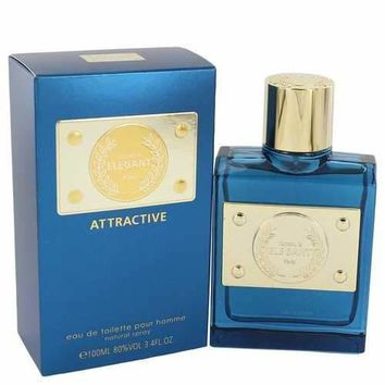 Elegant Attractive by Johan B Eau De Toilette Spray 3.4 oz (Men)