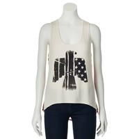 Workshop Graphic Print Tank - Juniors, Size:
