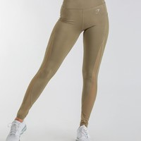 Gymshark Sleek Sculpture Leggings 2.0 - Khaki Wash