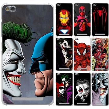 Deadpool Dead pool Taco Lavaza Joker Killing Joke  Spider Case for Xiaomi Redmi 3 3S 4 6 Pro S2 4A 5A 5 Plus Note 5A Prime Note 3 5 Pro 4 4X AT_70_6