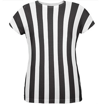 Halloween Referee Costume All Over Womens T Shirt