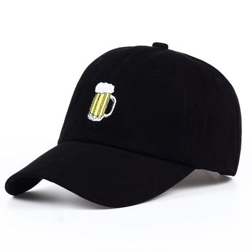 Mug Of Beer - Embroidered Cute, Graphic, Cool Baseball Cap - Sports & Leisure Hat