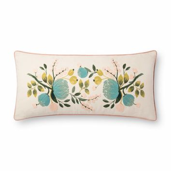 Rifle Paper Co. Botanical Lumbar Pillow