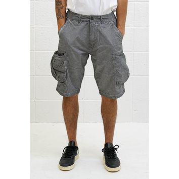 Overdyed BDU Shorts in Black