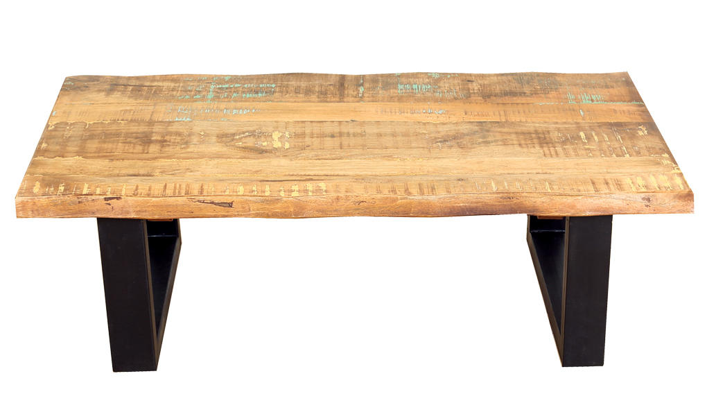 Modern Reclaimed Indian Wood Coffee Table From Wanderloot