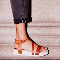Free People Sundown Flatform Sandal