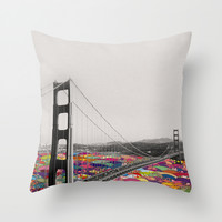It's in the Water Throw Pillow by Bianca Green