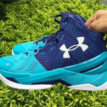 PEAPNW6 Under Armour Curry 2 UA 1259007-478 Basketball shoes-1