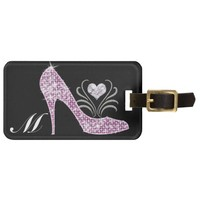 Bling Alphabet Tags - SRF