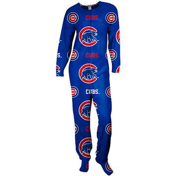 Chicago Cubs Highlight Footie Pajamas by Concepts Sport - MLB.com Shop