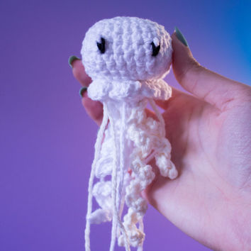 Mini Crochet Jellyfish