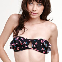 Roxy Ruffle Bandeau Top at PacSun.com