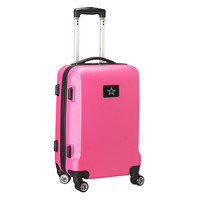 Dallas Cowboys  20'' Hardcase Luggage Carry-on Spinner-Pink