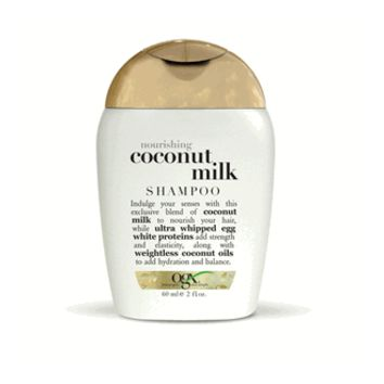 OGX Coconut Milk Shampoo, 2.0 oz