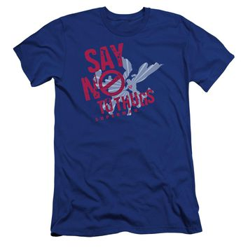 Superman - Say No To Thugs Premuim Canvas Adult Slim Fit 30/1