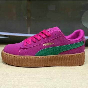 PUMA Women Casual Running Sport Shoes Sneakers Roses