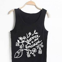 Unisex Tank top men women Florence and The Machine Logo