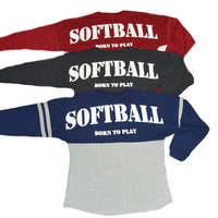Softball Oversized Spirit Shirts