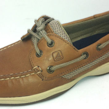 "Sperry Top-Sider Women's NEW ""Intrepid"" 9777956 DARK TAN Brown Boat Shoes M or W"