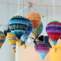 You have to see Hot air baloons galore by KnitographyByMrs.Mumpitz!