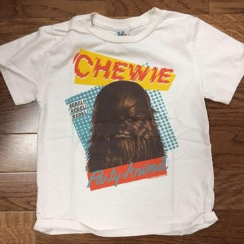 Junk Food Star Wars Chewy Party Animal Toddler Tee Shirt