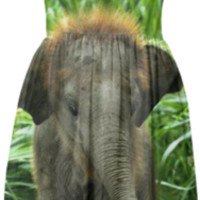 Elephant Summer Dress created by ErikaKaisersot | Print All Over Me