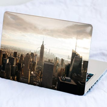 Macbook Skin New York Macbook Pro Skin Macbook Air Skin Macbook Cover Macbook Decal Macbook Sticker Laptop Skin NY Big Apple Manhattan