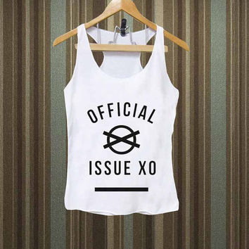 The Weeknd - Official Issue XO Men,Women Tank