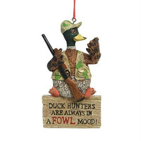 Christmas Ornament - Duck Hunting