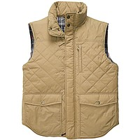 Varsity Vest in Khaki by Southern Proper - FINAL SALE