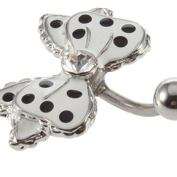 New Charming Dangle Crystal Navel Belly Ring Bling Barbell Button Ring Piercing Body Jewelry = 4804887620