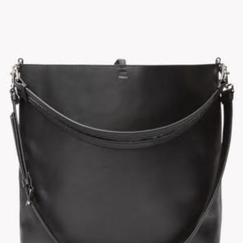 THEORY Urban Bucket Bag in Linden