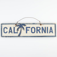 California Sign Blue/White One Size For Men 24385127301