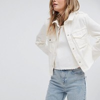 Pimkie Denim Jacket at asos.com