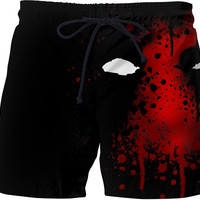DEADPOOL Custom Swim Shorts