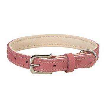 "Weaver Pet 06-5890-13 Deck Dog Collar, 13"", 3/4"" Wide, Coral & Natural"