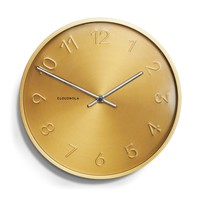 Trusty Wall Clock by Cloudnola GOLD